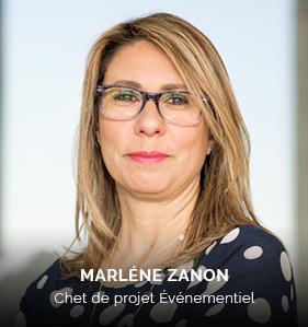 Marlene ZANON, chef de projet Événementiel